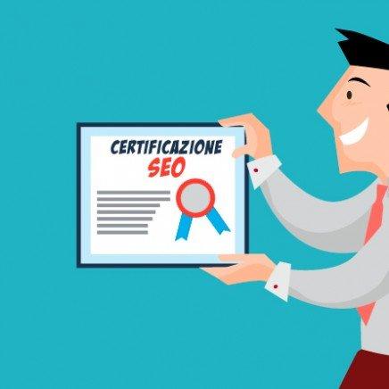certificazione seo